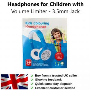Childrens Headphones with Volume Limiter - 3.5mm Jack
