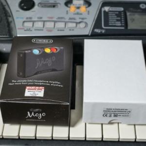 Chord Electronics Mojo  (mit Zubehör: Dignis Echtlederhülle & Hama Tasche)