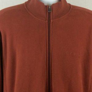 Columbia Sports Wear Mens Jacket Full Zipper Long Sleeve Brown XL