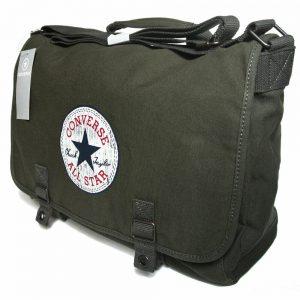 Converse Sporttasche Fitness Laptop Tasche ALL STAR Oliv Grün Umhängetasche