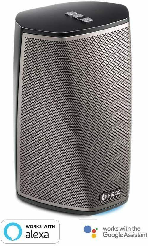 DENON HEOS 1 HS2 (2.Gen) Portable Speaker Bluetooth Wireless Hi-Res Audio BLACK