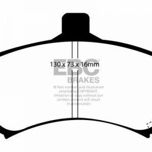 DP31045C EBC Redstuff Brake Pads