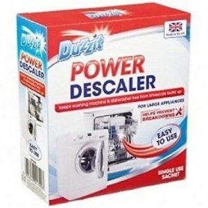 DUZZIT POWER DESCALER WASHING MACHINE DISHWASHER LARGE APPLIANCES