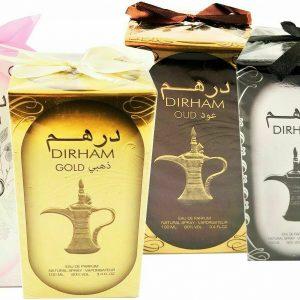Dirham Perfumes 100ML, Unisex, Magnificent Aromas, Deodorant Sweet Fragrance