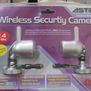 Dual Security Wireless Camera Set