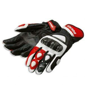Ducati Spidi Sport C2 Racing Leather Gloves Medium Motorcycle Accessories