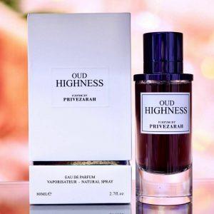 EDP Oud Highness UNISEX S Fragrance Scent 80ml PARIS CORNER PERFUMES