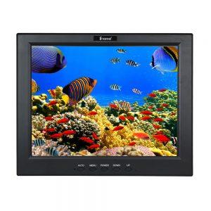 "Eyoyo 12""TFT LCD Monitor For PC CCTV BNC AV HDMI Security Banking Office kit"