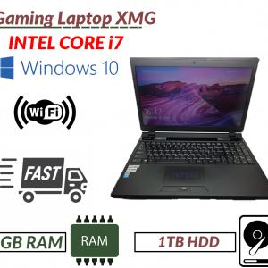 Fast Gaming Laptop XMG Intel i7-4710 8GB RAM 1TB HDD GEFORCE GTX 870M Webcam DVD