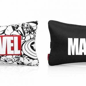 Finex Set of 2 Pieces Marvel Avengers Bone Neck Pillow Superhero Car Accessories