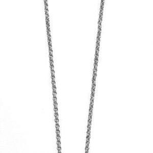 Fiorelli Fashion Rhodium Plated Crystal by Swarovski® Flower Pendant Necklace