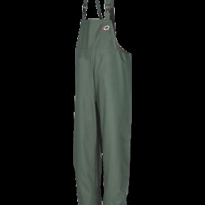 Flexothane Waterproof Bib & Brace Green - Strong & Durable Outdoor Work Wear