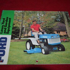 Ford Lawn Yard & Garden Equipment Dealers Brochure DCPA