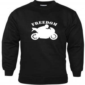 Freedom Funny Sweatshirt Biker Enthusiast Motorbike Accessories Motorcycle Gifts