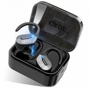 GRDE Wireless Earbuds, Wireless Earphones Bluetooth Headphones In Ear Built-in
