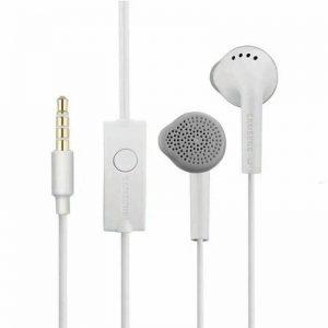 Genuine Samsung Handsfree Headphones Earphones Earbud with Mic EHS61ASFBE White