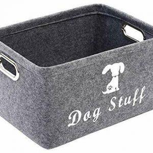 Geyecete Dog Apparel & Accessories/Dog toys/Pet supplies storage Basket/Bin with