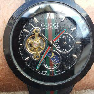 Gucci Pantcaon Semi-Automatic Manual Winding Watch - 46 mm