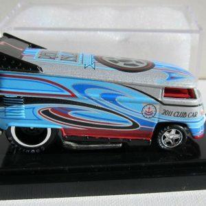 HOT WHEEL LIBERTY PROMOTIONS '11 CLUB CAR RHODE ISLAND DRAG BUS REBEL RUN 57/200