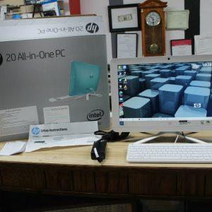HP 20-c023w ALL IN ONE PC - PENTIUM - 500 SSD 8GB DVD-RW DREAMY TEAL
