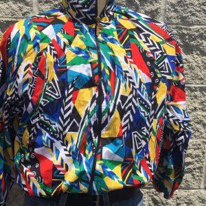 Head Sports Wear Vintage 90's Jacket Beautiful ColorFul Size Medium