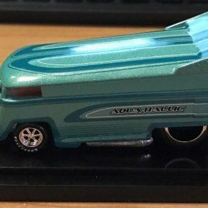 Hot Wheels Liberty Promotions 2010 Aqua-Haulic VW Drag Bus #'d 730/1300