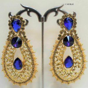 Indian gold Plated Oxidized Latest Design Jumka Jumki Earring Women Fashion new