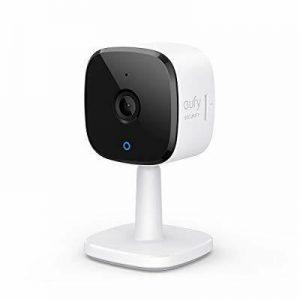Indoor Security Camera Wi-Fi 2K HD Night Vision 2-Way Audio Human & Pet Detect