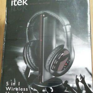Itek: 5 in 1 headphones
