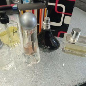 Job Lot Perfumes x7 Prada 50ml, Paul Smith Extreme 50ml White Musk