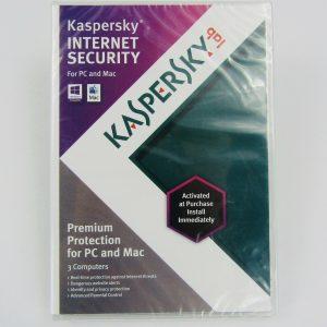 Kaspersky Internet Security 2013 3 Computers For Windows & Mac
