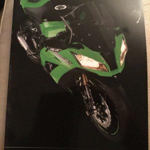 Kawasaki Motorcycles Accessories Brochure 2011