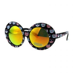 Kid's Girl's Fashion Sunglasses Oversized Thick Round Shades UV 400