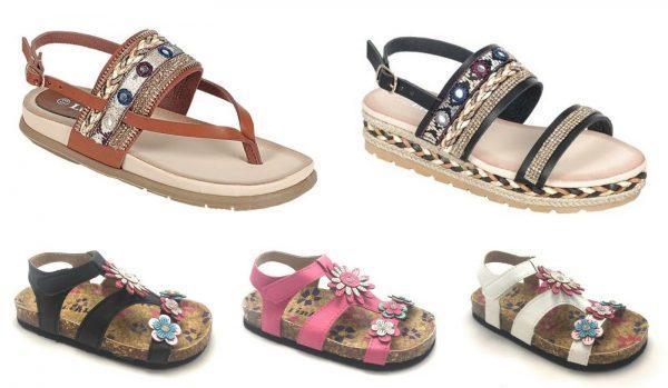 Kid's New Fashion Soft Foot bed Girl Roman Gladiator Sandal Shoe Sz 9-4