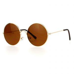 Kid's Sunglasses Round Circle Metal Frame Kids Fashion 4+ Boys Girls UV400