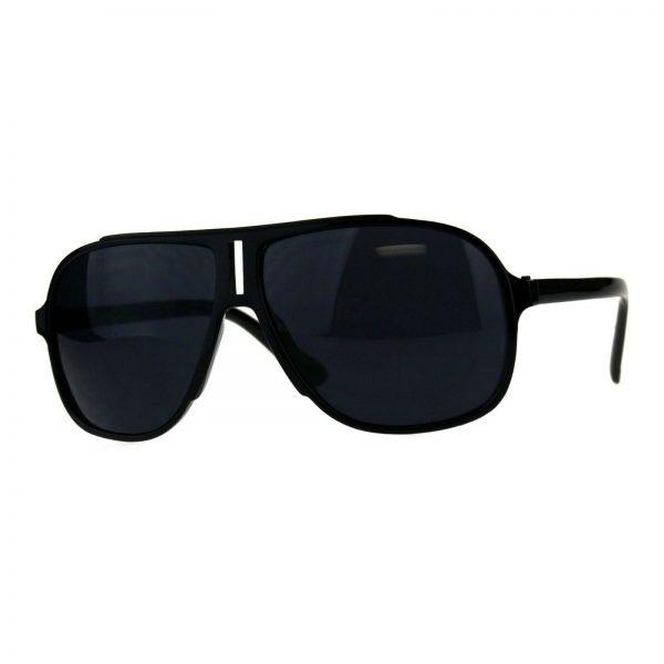Kid's Sunglasses Square Racer Aviators Boys Girls Fashion Shades