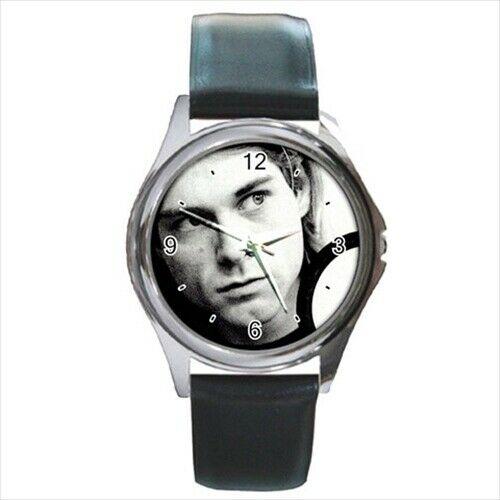 Kurt Cobain leather strap  watch  /wristwatch
