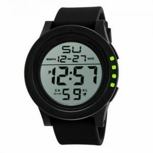LED Screen Digital Sports Watch Men's Watches Stopwatch Date Military Waterproof