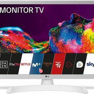 "LG SMART TV 24TN515S-PZ LED 24"" FULL HD MONITOR WXGA DVB-T2 USB WI FI NETFLIX PC"