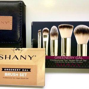 LOT OF 2 Beauty Products - Shany Makeup 7 Pc Brush Set & BTArtbox False Nails