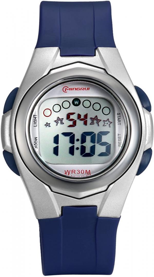 Lancardo 30M Waterproof Kid's Boys Girls Multi-Function Digital Watch with
