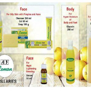 Lemon EXE-W Executive White Skin Care Products