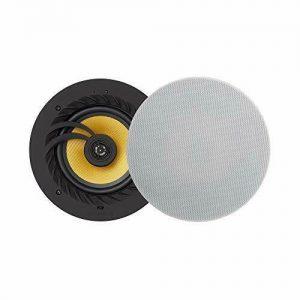 Lithe Audio 6.5 Inch 2-Way Passive Frameless Ceiling Speaker, Single