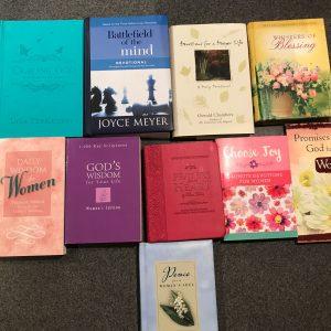 Lot of 10 Devotional Books for Women - Christian Inspiration J Meyer, K Moore +