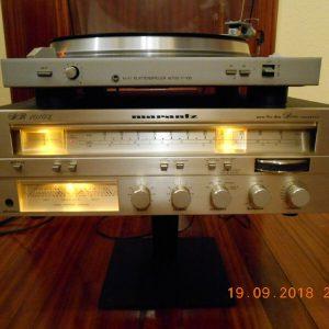 MARANTZ SR-1010L STEREO RECEIVER Y PLATO HGS ELECTRONIC ALTUS P-100