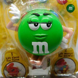M&M's Green Quartz Digital Kid's Watch