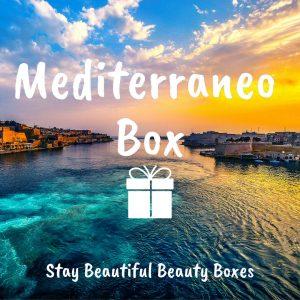 MYSTERY BOX: MEDITERRANEO BOX Beauty products from Italy/Europe Box misteriosa