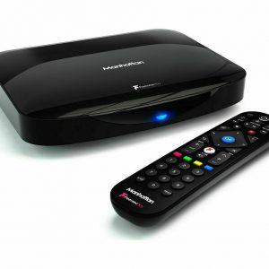Manhattan T3-R Freeview HD Smart 4K Ultra HD Digital TV Recorder - 500 GB