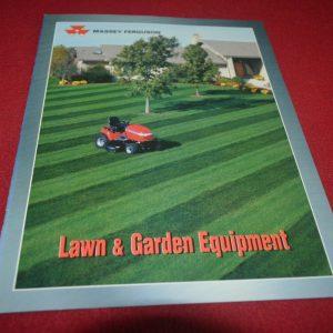 Massey Ferguson Lawn & Garden Equipment For 2000 Brochure FCCA