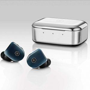 Master & Dynamic MW07 Plus Steel Blue True Wireless Earphones Mic Open Box